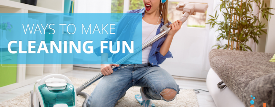 5 Ways to Make Mundane Home Cleaning a Little More Fun