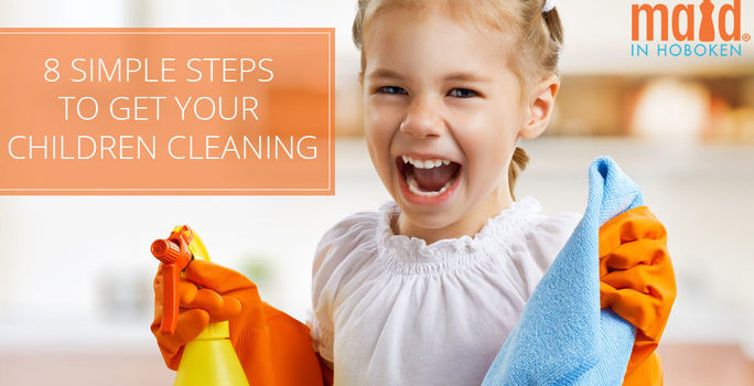 8 Simple Steps to Get Your Children Cleaning