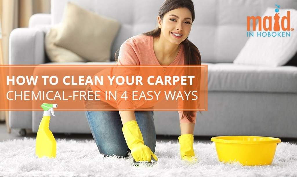 How To Clean Your Carpet Chemical-Free in 4 Easy Ways