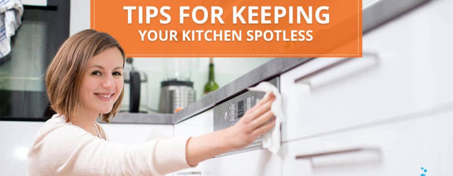 1-Minute Effortless Tips For Keeping Your Kitchen Spotless