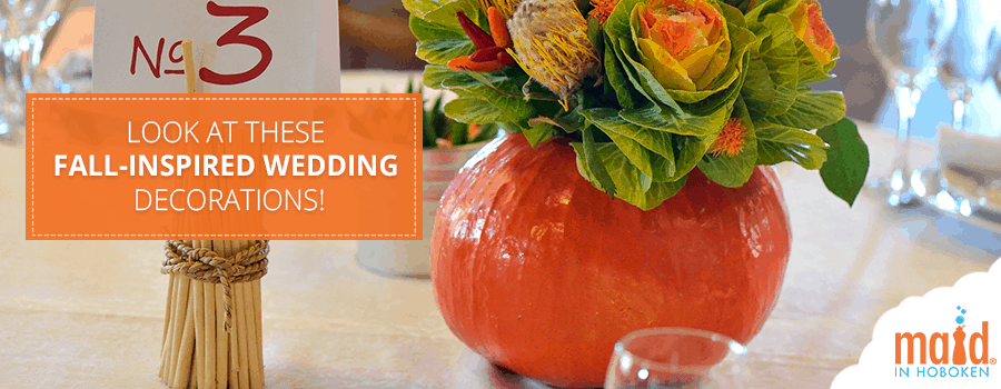 Look At These Fall-Inspired Wedding Decorations!