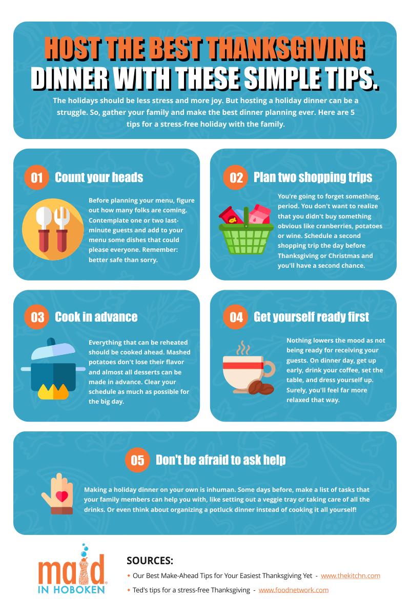 Tips for hosting the best thanksgiving dinner