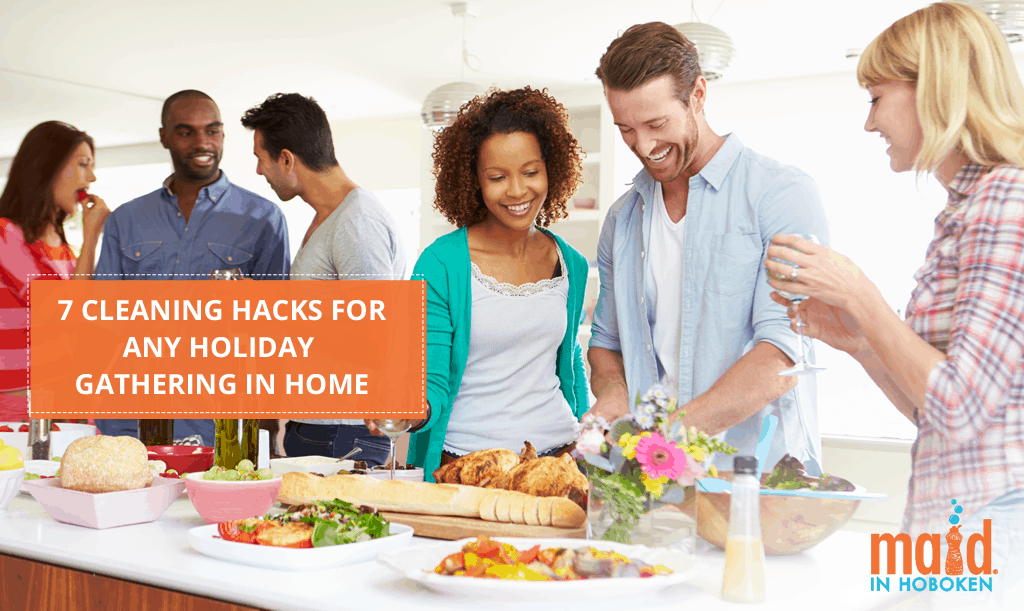 7 Cleaning Hacks For Any Holiday Gathering In Home