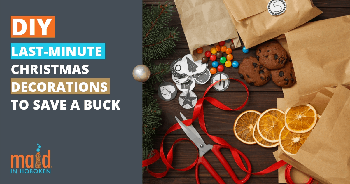 DIY Last minute Christmas Decorations to save a buck