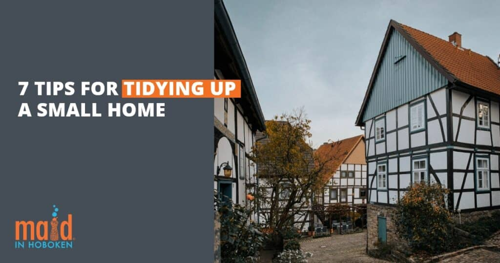 7 things of tidying up a small home